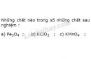Bài 1 – Trang 94 – SGK Hóa Học 8
