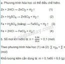 Bài 4 trang 117 SGK Hóa học 8