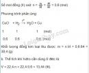 Bài 4 trang 109 SGK hóa học 8