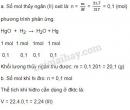 Bài 5 trang 109 SGK hóa học 8