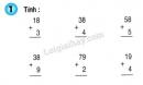Bài 1, 2, 3, 4 trang 20 SGK Toán 2