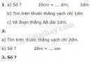 Bài 1, 2, 3, 4 trang 8 SGK Toán 2