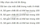 Bài 1 trang 142 SGK Hóa học 8