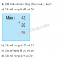 Bài 1, 2, 3 trang 5 sgk toán 2