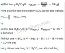 Bài 2 trang 151 sgk hóa học 8