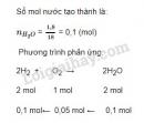 Bài 3 trang 125 sgk Hóa học lớp 8