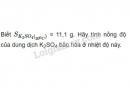 Bài 3 trang 151 sgk hóa học 8