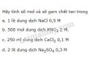 Bài 4 trang 146 sgk hóa học 8