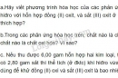 Bài 5 trang 119 SGK hóa học 8