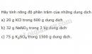 Bài 5 trang 146 sgk hóa học 8