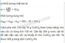 Bài 5 trang 151 sgk hóa học 8