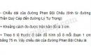 Đo và tính chiều dài cùa đường Phan Bội Châu
