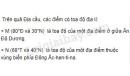 Bài 1 trang 17 SGK Địa lí 6