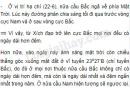 Bài 1 trang 30 SGK Địa lí 6