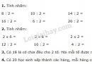 Bài 1, 2, 3, 4, 5 trang 111 SGK Toán 2