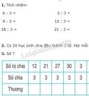 Bài 1, 2, 3 trang 113 sgk Toán 2
