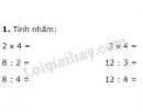 Bài 1, 2, 3, 4 trang 116 SGK Toán 2