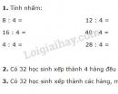 Bài 1, 2, 3 trang 118 SGK Toán 2