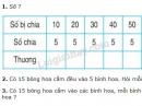 Bài 1, 2, 3 trang 121 sgk Toán 2