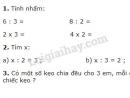 Bài 1, 2, 3 trang 128 sgk Toán lớp 2
