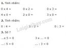 Bài 1, 2, 3, 4 trang 133 sgk Toán lớp 2