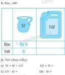 Bài 1, 2, 3, 4 trang 41, 42 sgk toán 2