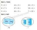 Bài 1, 2, 3, 4, 5 trang 44 SGK Toán 2