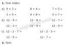 Bài 1, 2, 3, 4 trang 52 SGK Toán 2