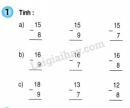 Bài 1, 2 trang 65 SGK Toán 2