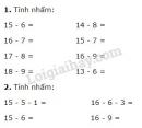 Bài 1, 2, 3, 4 trang 68 SGK Toán 2