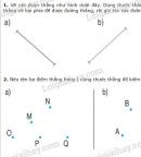 Bài 1, 2 trang 73 SGK Toán 2