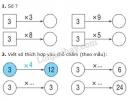 Bài 1, 2, 3, 4, 5 trang 98 sgk Toán 2