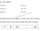 Bài 1, 2, 3 trang 99 sgk Toán 2