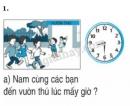 Bài 1, 2, 3 trang 127 SGK Toán 2