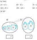 Bài 1, 2, 3, 4 trang 43 SGK Toán 2