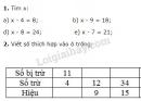 Bài 1, 2, 3, 4 trang 56 SGK Toán 2