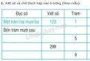 Bài 1, 2, 3, 4, 5 trang 165 SGK Toán 2