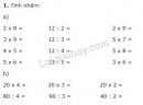 Bài 1, 2, 3, 4, 5 trang 172 sgk Toán lớp 2