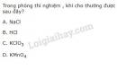 Bài 1 trang 101 SGK Hóa học 10