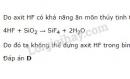 Bài 1 trang 113 sgk Hóa học lớp 10