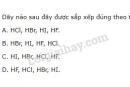 Bài 1 trang 118 SGK Hóa học 10