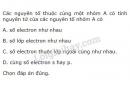 Bài 1 trang 41 sgk hóa học 10