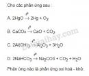 Bài 1 trang 82 SGK Hóa học 10