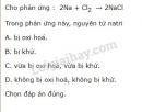 Bài 1 trang 86 SGK Hóa học 10