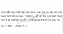 Bài 11 trang 114 SGK Hóa học 10