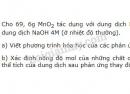 Bài 12 trang 119 SGK Hóa học 10