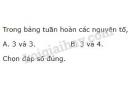 Bài 2 trang 35 SGK Hoá học 10