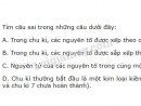 Bài 2 trang 53 SGK Hóa học 10