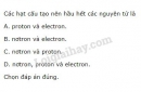 Bài 2 trang 9 SGK Hoá học 10