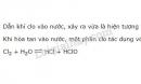 Bài 3 trang 101 sgk Hóa học lớp 10